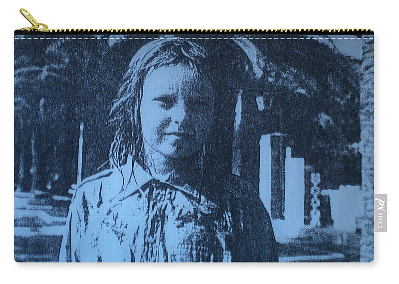 Colette Carry-all Pouch featuring the photograph Diano Marino Italy Summer 67 Colette Life Reflecting by Colette V Hera Guggenheim