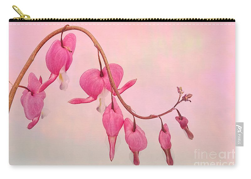 Dicentra Carry-all Pouch featuring the photograph Dicentra by Ann Garrett