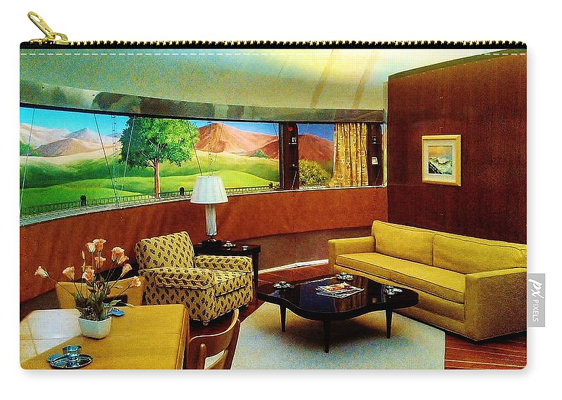 Dimaxium Living Room Carry-all Pouch featuring the photograph Diemaxium Living Room by Daniel Thompson