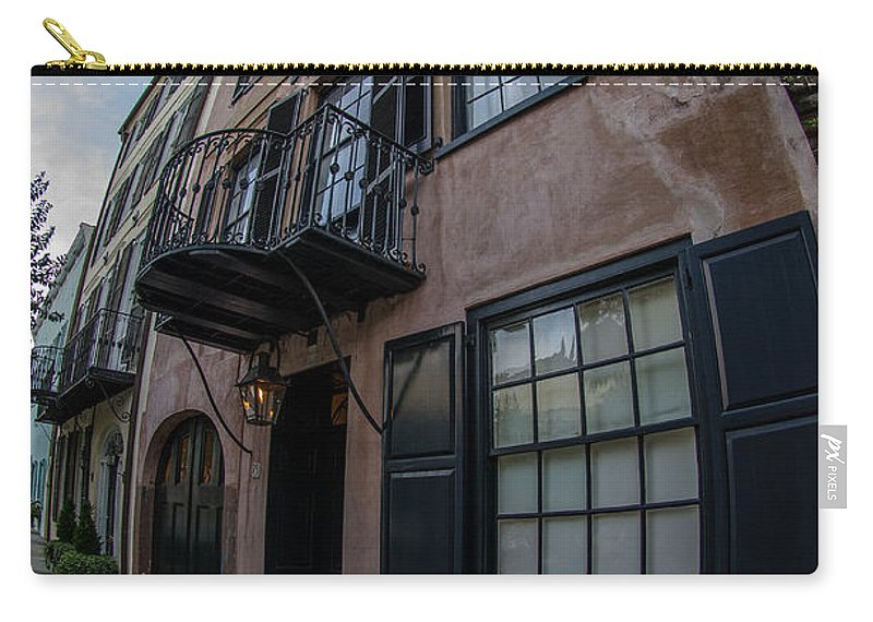 Rainbow Row Carry-all Pouch featuring the photograph Different Perspective by Dale Powell