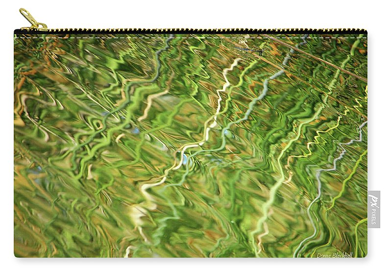 Water Carry-all Pouch featuring the photograph Difficult Times by Donna Blackhall