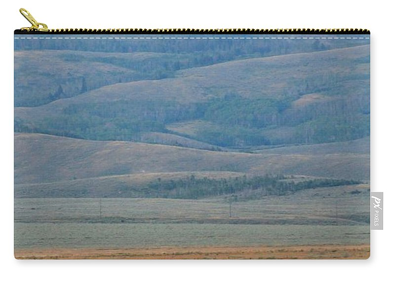 Jackson Hole Carry-all Pouch featuring the photograph Dinner In The Bushes by Catie Canetti