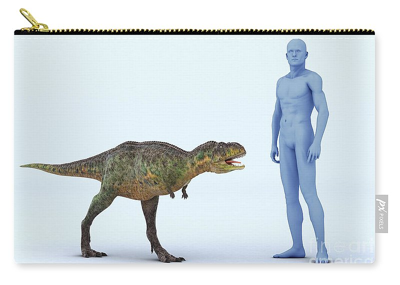 Human Body Carry-all Pouch featuring the photograph Dinosaur Aucasaurus by Science Picture Co
