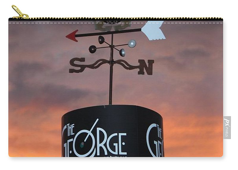 The George Carry-all Pouch featuring the photograph Direction by Cynthia Guinn