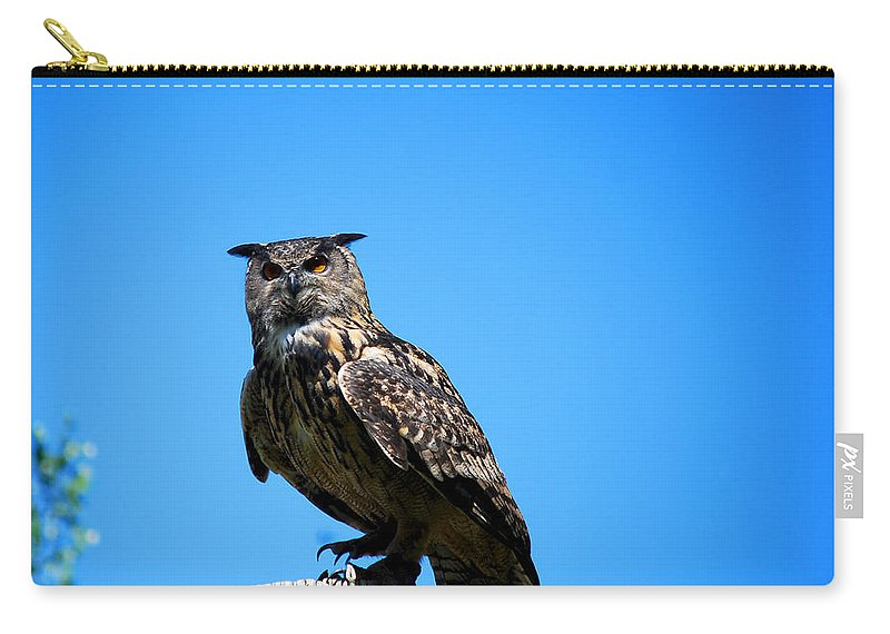 Becky Furgason Carry-all Pouch featuring the photograph #handmemyleather by Becky Furgason
