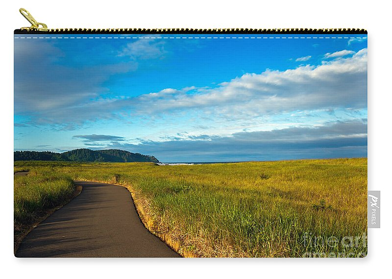 Pacific Ocean Carry-all Pouch featuring the photograph Discovery Trail by Robert Bales