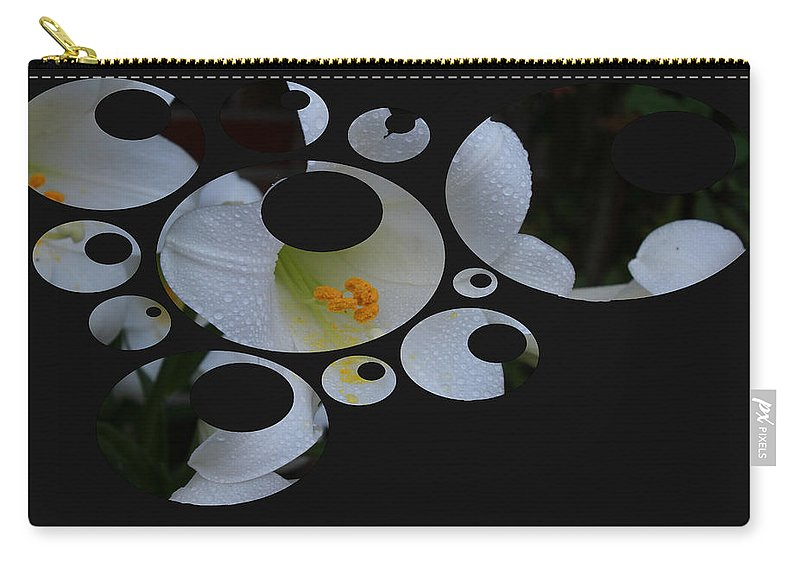 Lily Carry-all Pouch featuring the photograph Disgruntled Lilly by Bonnie Willis
