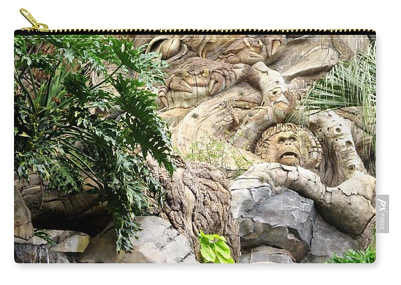 The Tree Of Life Carry-all Pouch featuring the photograph Disney Tree Of Life by Zina Stromberg