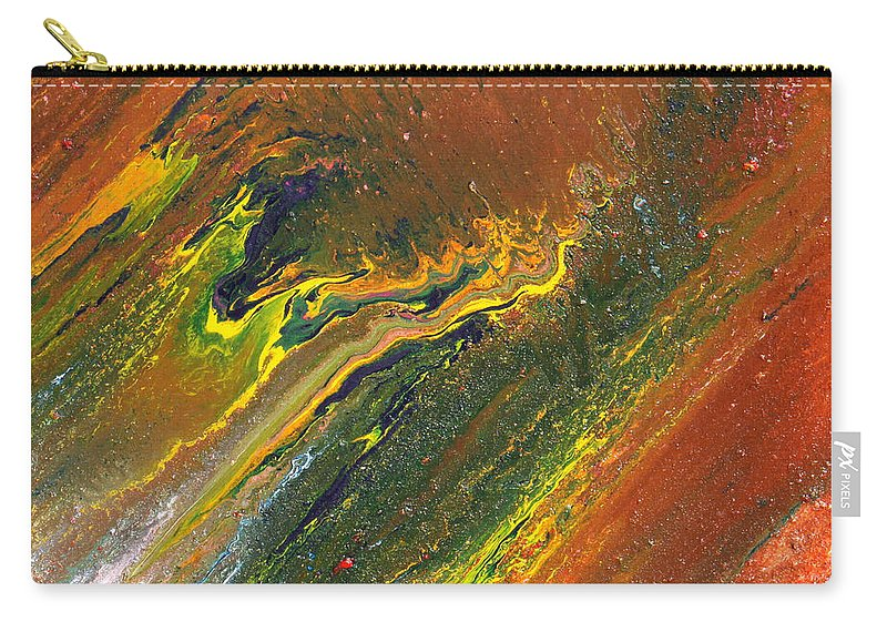 Fusionart Carry-all Pouch featuring the painting Distance by Ralph White