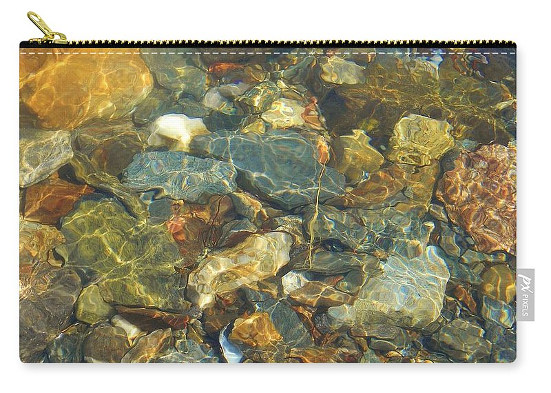 Water Carry-all Pouch featuring the photograph Distortion by Jean Goodwin Brooks