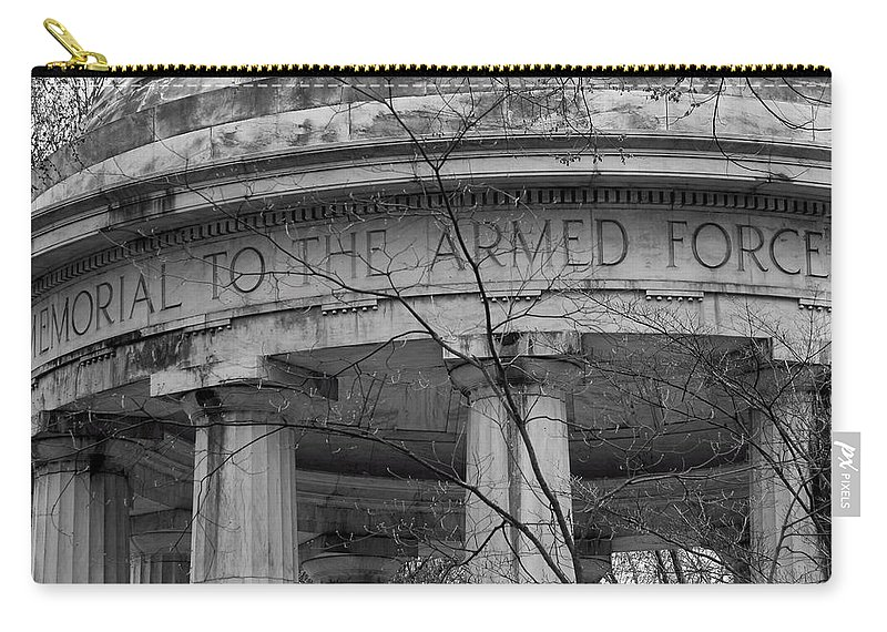 World Carry-all Pouch featuring the photograph District Of Columbia World War I Memorial by Cora Wandel