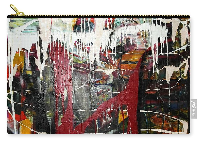 Non-objective Carry-all Pouch featuring the photograph Diversity by Peggy Blood