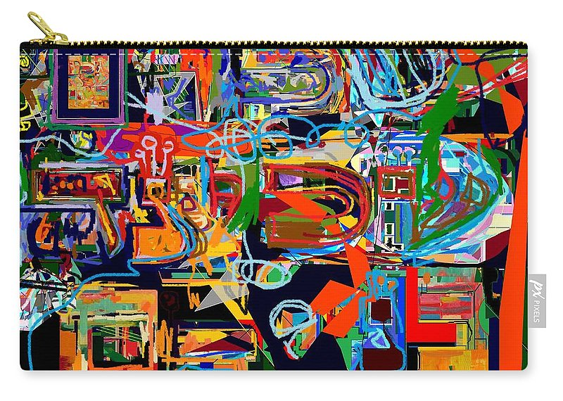 Torah Carry-all Pouch featuring the digital art Divinely Blessed Marital Harmony 26 by David Baruch Wolk