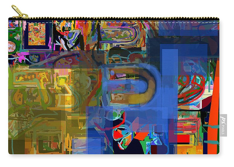 Torah Carry-all Pouch featuring the digital art Divinely Blessed Marital Harmony 30 by David Baruch Wolk