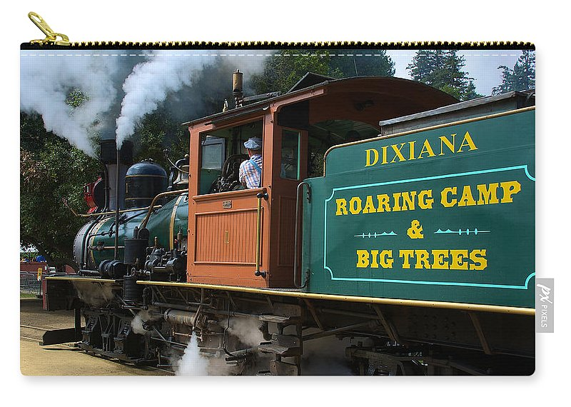 Dixiana Carry-all Pouch featuring the photograph Dixiana Engine 4 by Richard J Cassato