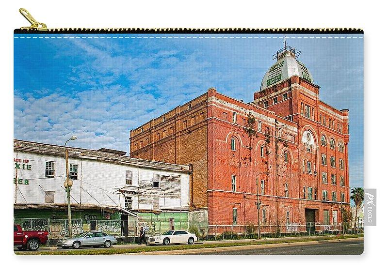 Hurricane Katrina Carry-all Pouch featuring the photograph Dixie Beer by Steve Harrington