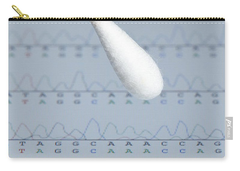 Dna Carry-all Pouch featuring the photograph Dna Sample by GIPhotoStock