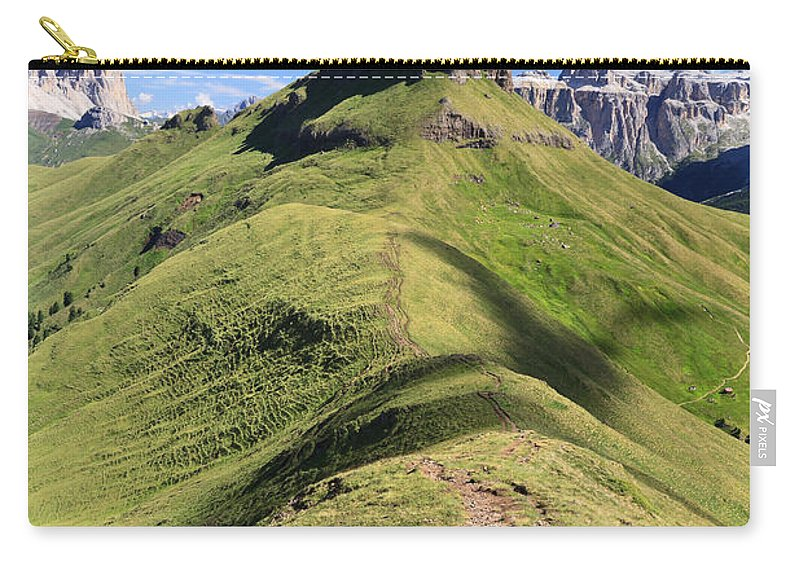 Alpine Carry-all Pouch featuring the photograph Dolomites - Crepa Neigra by Antonio Scarpi