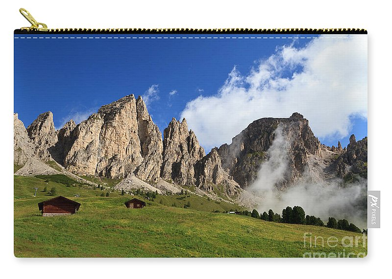 Alpine Carry-all Pouch featuring the photograph Dolomites In Badia Valley by Antonio Scarpi