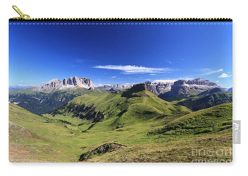 Alpine Carry-all Pouch featuring the photograph Dolomiti - High Fassa Valley by Antonio Scarpi