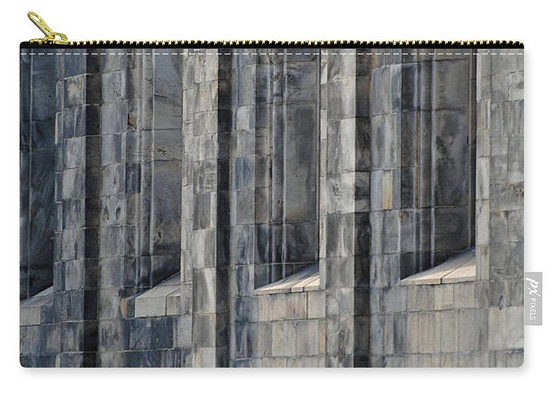 Domkyrkan Carry-all Pouch featuring the photograph Domkyrkan Lund Se 14 by Jeff Brunton