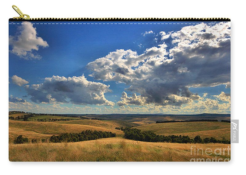 Donny Brook Hills Carry-all Pouch featuring the photograph Donny Brook Hills by Joy Watson
