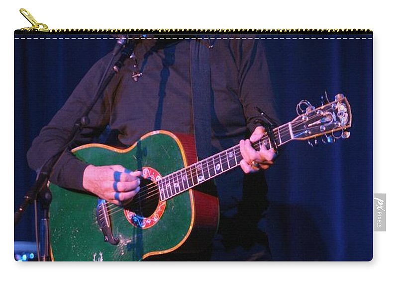 Donovan Carry-all Pouch featuring the photograph Donovan by Concert Photos