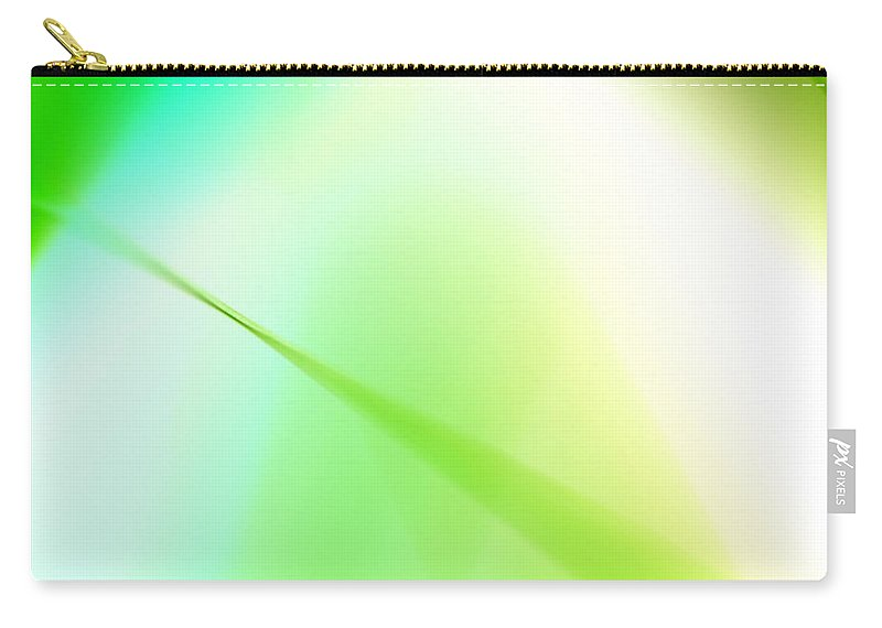 Abstract Carry-all Pouch featuring the photograph Don't Fade Away by Dazzle Zazz