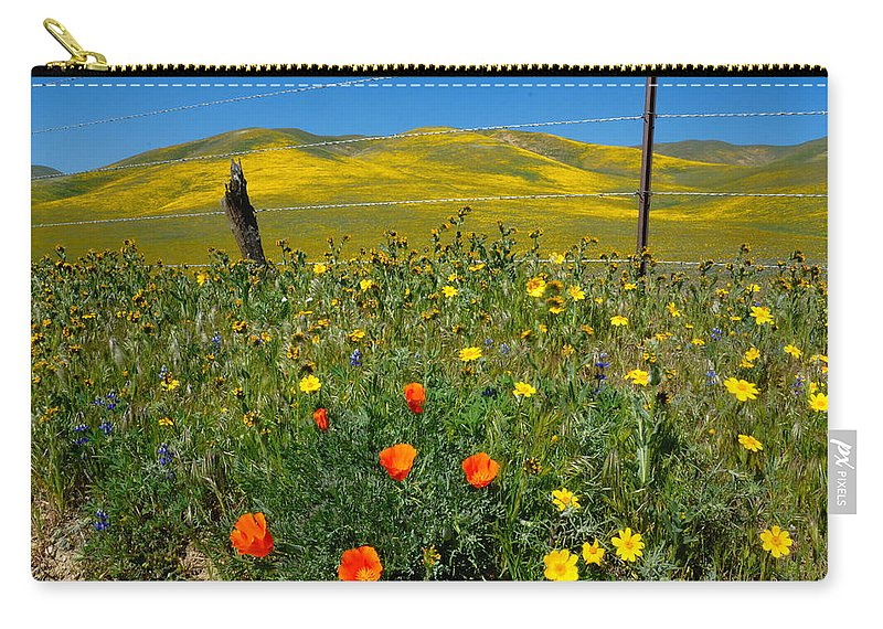 Gorman Carry-all Pouch featuring the photograph Don't Fence Me In by Lynn Bauer