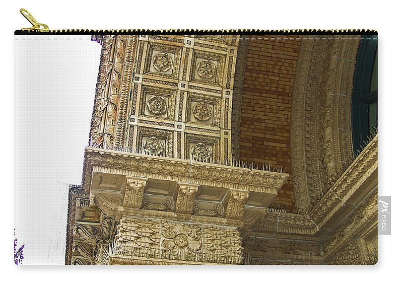 Embellishment Carry-all Pouch featuring the photograph Door Arch by Eric Swan