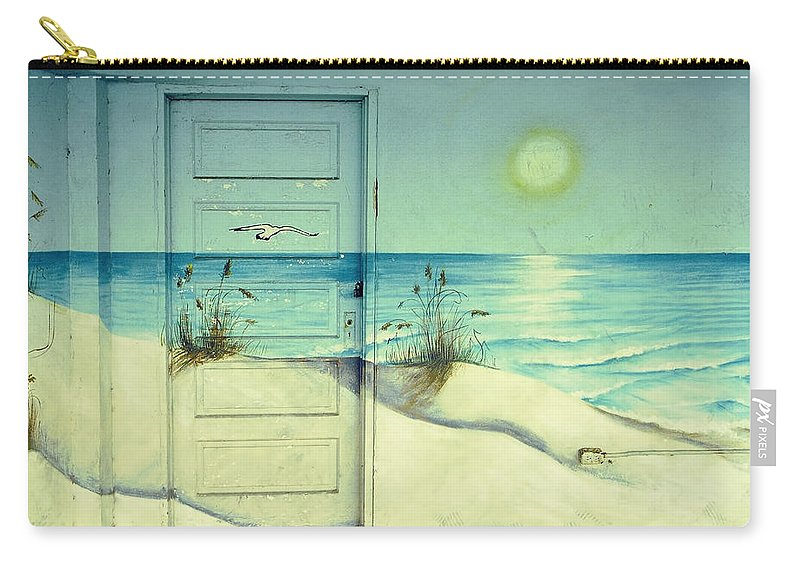 Architecture Carry-all Pouch featuring the photograph Door Of Perception by Skip Hunt