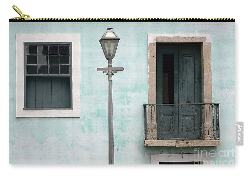 Door Carry-all Pouch featuring the photograph Doors Of Alcantara Brazil 2 by Bob Christopher