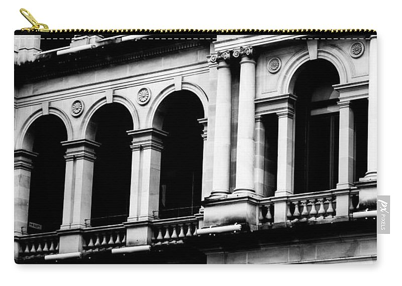 Architecture Carry-all Pouch featuring the photograph Doorways And Arches by Parker Cunningham