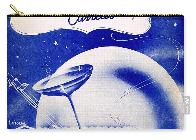 Nostalgia Carry-all Pouch featuring the photograph Dos Gardenias by Mel Thompson