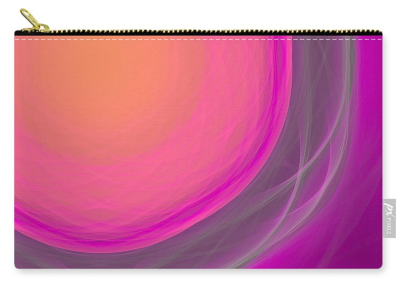 Psychology Carry-all Pouch featuring the digital art Dot-01 by RochVanh