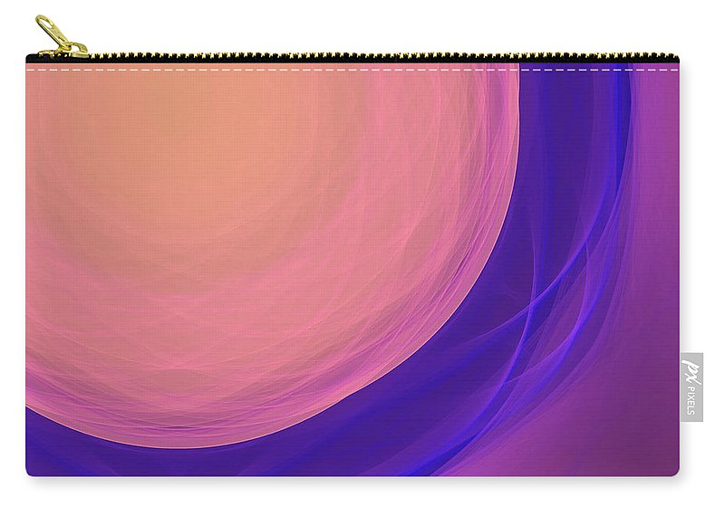 Psychology Carry-all Pouch featuring the digital art Dot-02 by RochVanh