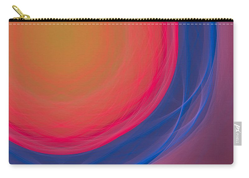 Psychology Carry-all Pouch featuring the digital art Dot-03 by RochVanh
