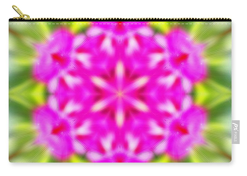 Sacredlife Mandalas Carry-all Pouch featuring the photograph Double Vision by Derek Gedney