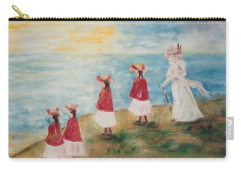 Carry-all Pouch featuring the painting Dover by Lord Frederick Lyle Morris - Disabled Veteran