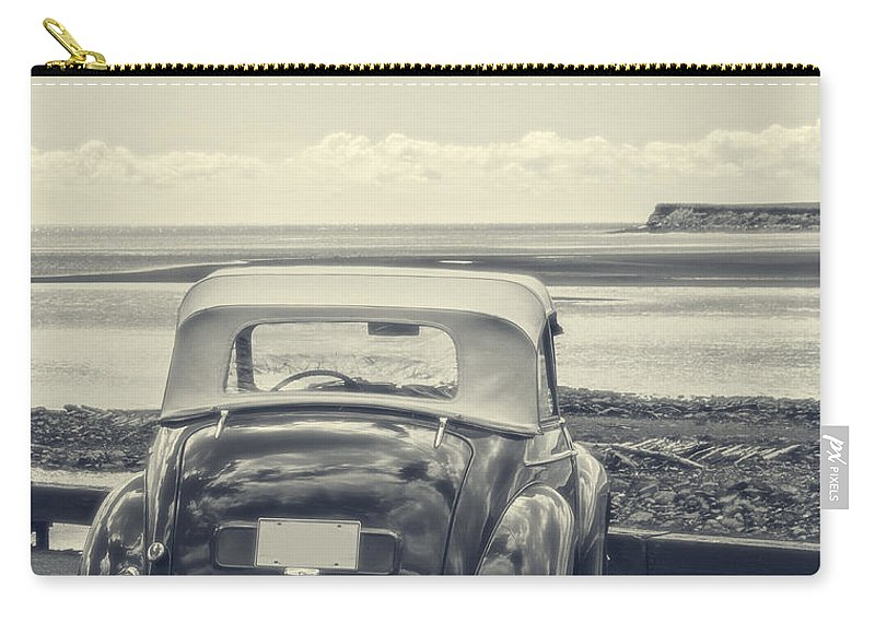 Beach Carry-all Pouch featuring the photograph Down By The Shore by Edward Fielding