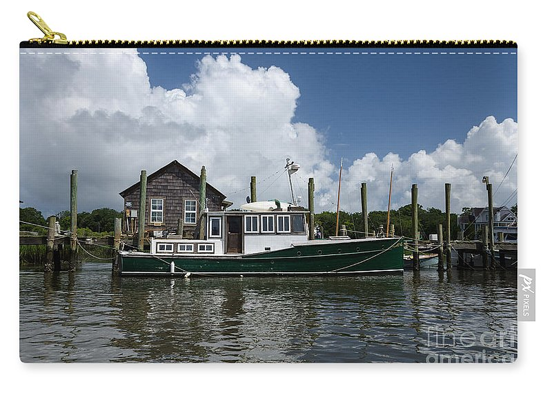 Downeast Style Carry-all Pouch featuring the photograph Downeast Style by Dale Powell