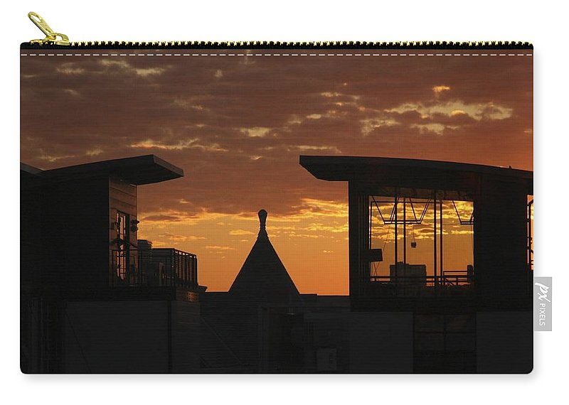 Sunrise Carry-all Pouch featuring the photograph Downtown Sunrise by Stuart Litoff
