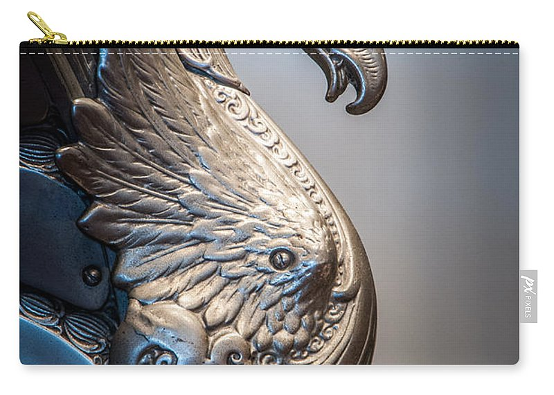 Dragon Carry-all Pouch featuring the photograph Dragon Right by Ronald Grogan