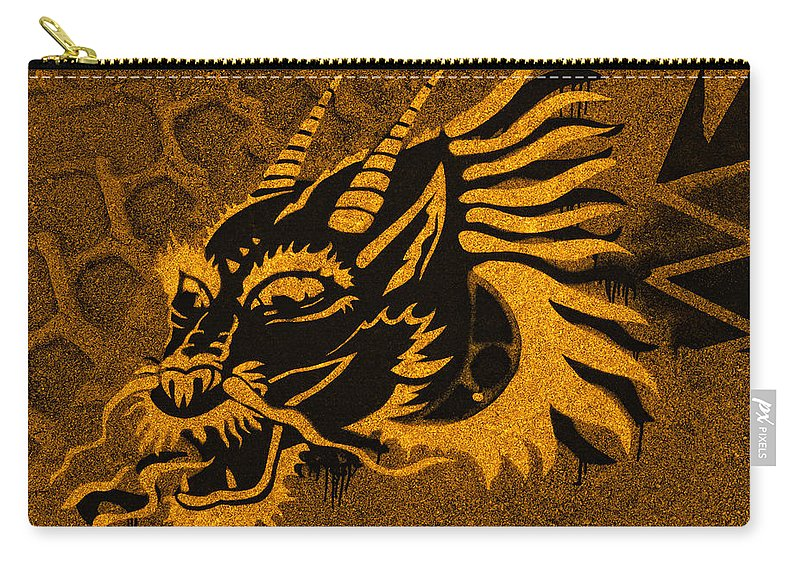 Ancient Carry-all Pouch featuring the photograph Dragon by TouTouke A Y