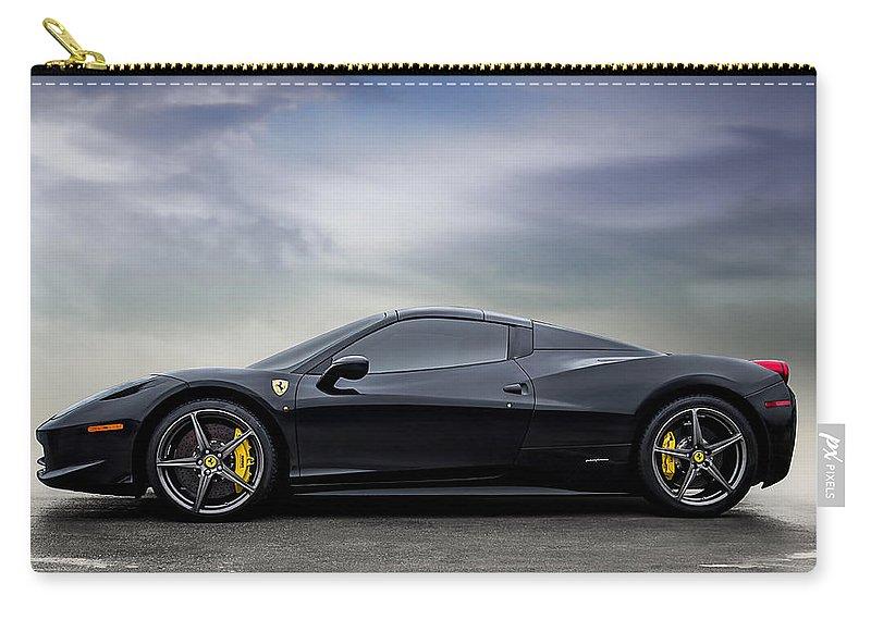 Ferrari Carry-all Pouch featuring the digital art Dream #458 by Douglas Pittman