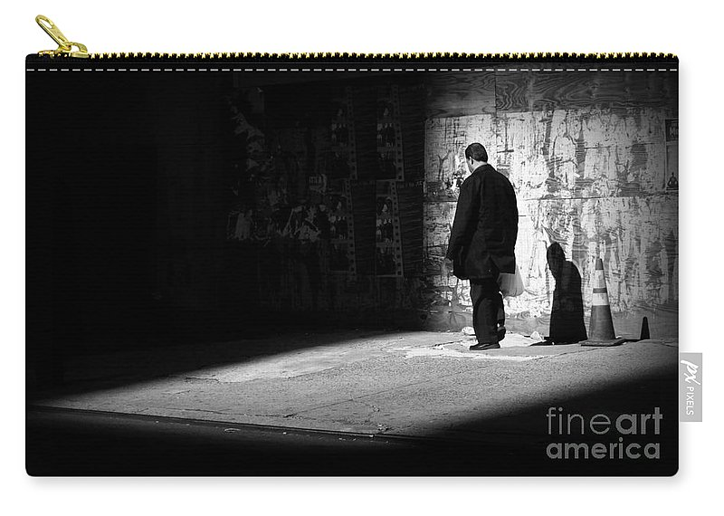 Surreal Carry-all Pouch featuring the photograph Dream - New York City Street Scene by Miriam Danar
