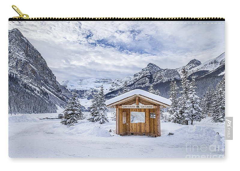Banff Carry-all Pouch featuring the photograph Dream Factor by Evelina Kremsdorf