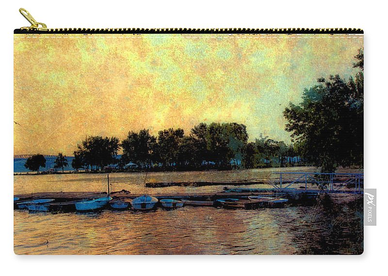 Boats Carry-all Pouch featuring the photograph Dream by Madeline Ellis