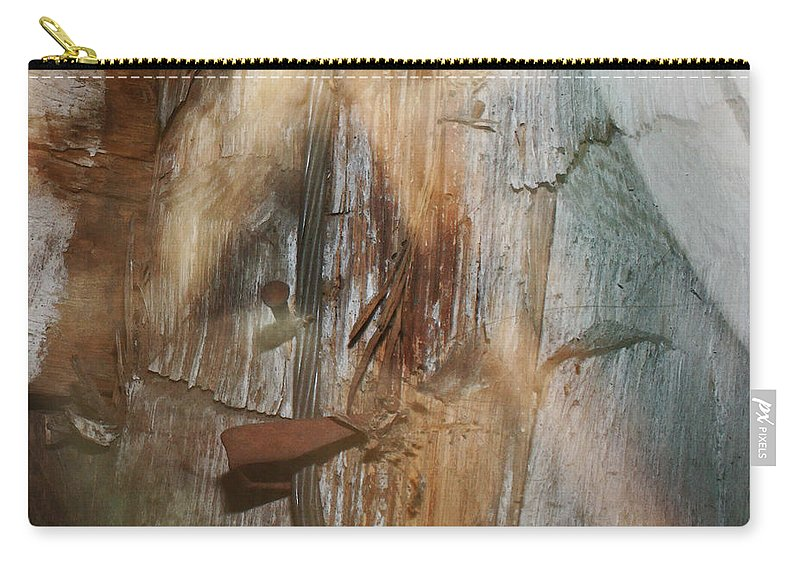 Wood Carry-all Pouch featuring the photograph Dream Of Old Things 2 by Mary Bedy