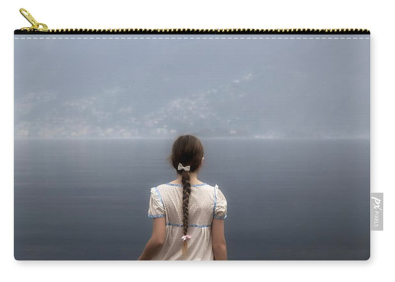 Girl Carry-all Pouch featuring the photograph Dreaming In Water by Joana Kruse